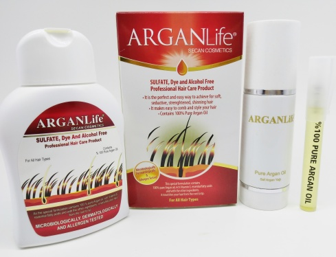 Argan Life Hair Shampoo hair loss in women
